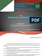 Historia de La Gerontologia.
