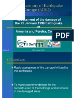 Assessment of the Damage of the 25 January 1999 Earthquake Armenia and Pereira, Colombia