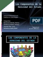 Desarrollo humano. LOS COMPONENTES DE LA DENSIDAD DEL ESTADO[1].pptx