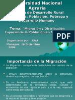 UNA-Distribucion de Pob en Nic - 16 DIC 2006