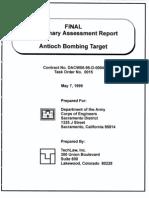 Antioch Bombing Target