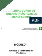 Curso Buenas Prácticas de Manufactura.BPM. I