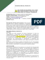Proyecto Inclusion Laboral Discapacidad Pereira