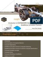 Introduction to Composite Material Modeling With SolidWorks Simulation Premium