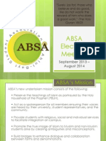 ABSA Elections Information