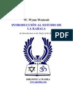 Wynn Westcott - Introduccion a la Cabala.pdf