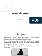 Lecture 2 - Image Histograms