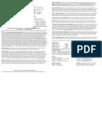 Bulletin April 7, 2013