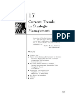 43268827 Current Trends in Strategic Management 1