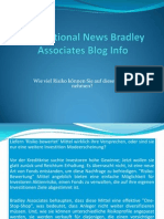 International News Bradley Associates Blog Info