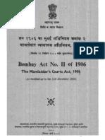 Mamlatdar's courts act, 1906.pdf
