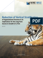 Reduction of Vertical Stratification of Organizational Structure and its Implications for the Long-Term Success and Growth of a Firm