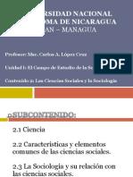 Clase Magistral No. 2 CIENCIAS SOCIALES Y LA SOCIOLOGÍA - 2013.pptx