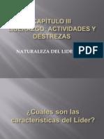 CAPÍTULO III Naturaleza del liderazgo