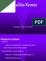 Tonsilitis Kronis