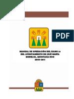 MANUAL DE OPERACIÓN DEL RAMO 33