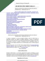 Retenção INSS 11% - PESSOAS JURÍDICAS