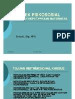 Bkm 122 Slide Askep Psikososial