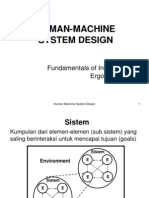 8 Man Machine System
