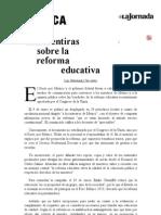 La Jornada_ Las mentiras sobre la reforma educativa.pdf