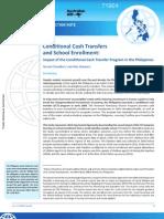 Conditional Cash Transfer and School Enrollment.pdf