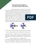 Inorganic Lab Exp 2