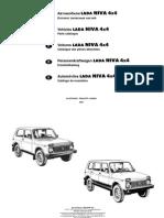 Manual Despiece Completo LADA NIVA