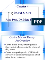 Ch04 Capm and Apt
