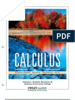 Calculus Multivariable 5th Edition