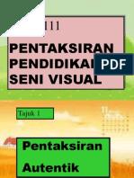 Pentaksiran Seni Visual 01