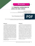 art 1 aspectos e impactos de pedreira em árae urbana