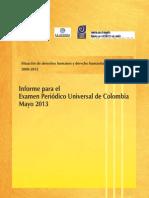 Informe Epu Colombia 2012 EspaNol