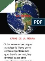 Presentación CAPAS DE  LA  TIERRA