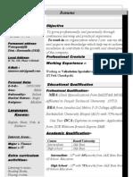 Tanveer's Resume