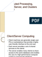 Proses Terdistribusi Client-Server Dan Clusters