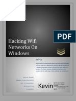 Hacking Wifi on Windows