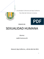 Ensayo de 11 Temas Sexualidad Humana