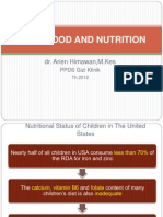 Childhood and Nutrition