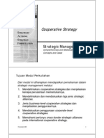 Strategic Mnjmn 10th Lect Cooperative Strategy