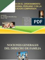La Familia en El Ordenamiento Constitucional Peruano y