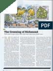"The ""Greening of Richmond"" April 2013 Richmond Magazine"