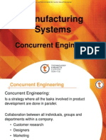 Concurrent Engineering and traditional engineering