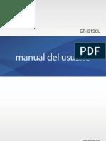 Gt-i8190l Manual Clular