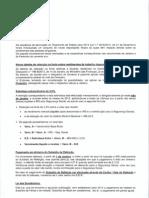 Informação Vencimentos - OE 2013 e Lei Duodécimos