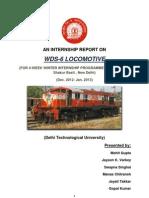 Diesel Loco WDS6-AD