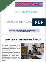 1. Análisis Metalográfico