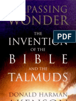 Akenson - Surpassing Wonder; The Invention of the Bible and the Talmuds (1998)
