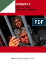 Informe Abandonados y Desaparecidos DRI CMDPDH