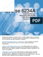 Implementing and Maintaining Microsoft SQL Server 2008