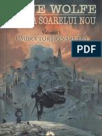 Gene Wolfe - Cartea Soarelui Nou Vol.1 - Umbra Tortionarului v2.0